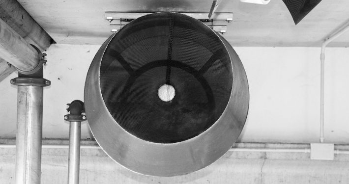 Dispositivo di erogazione schiumogeno nel deposito SGA Srl